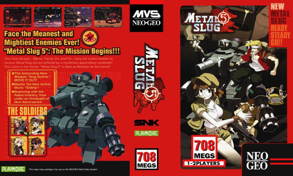 Metal Slug 5 MF