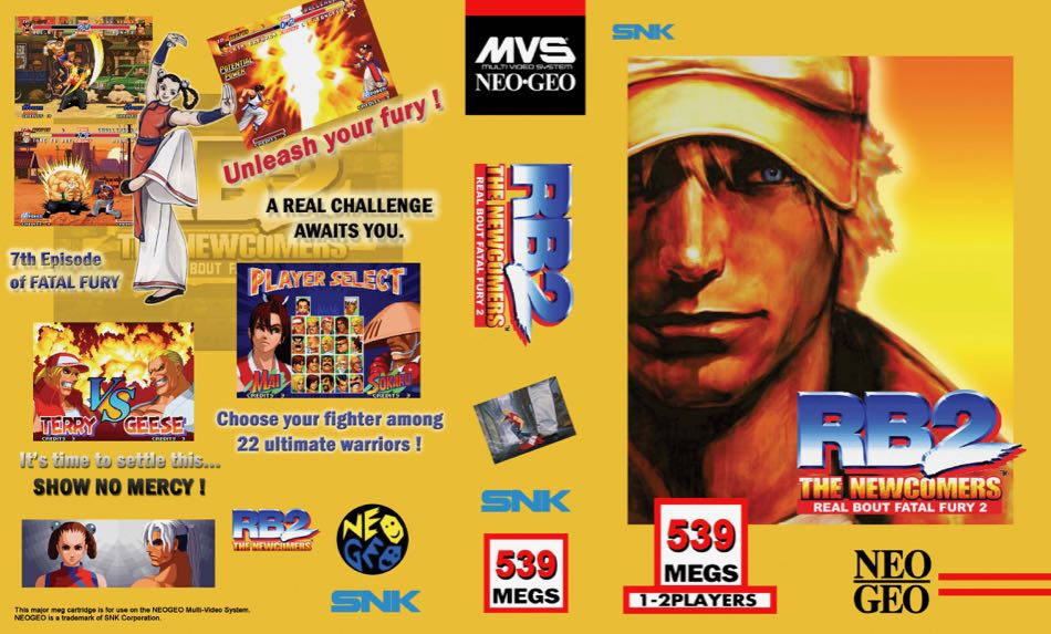 Real Bout Fatal Fury 2 MF